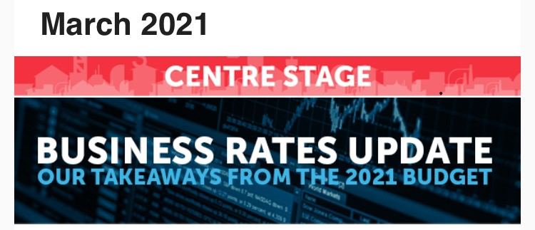 Business Rates - our view from the 2021 Budget